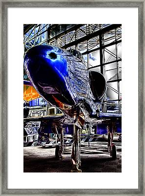 The Navy's Blue Angel Framed Print by David Patterson