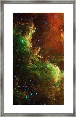 The North America Nebula Framed Print