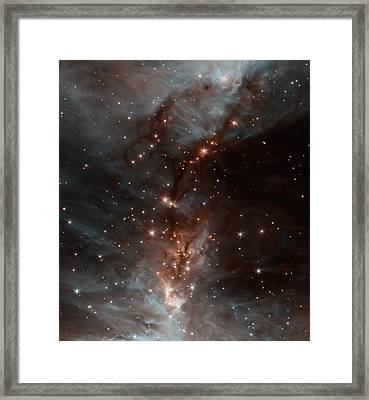 The Orion Nebula Framed Print by American School