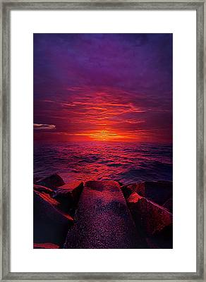 Framed Print featuring the photograph The Path by Phil Koch