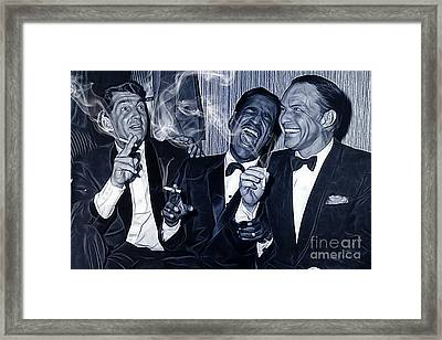 The Rat Pack Collection Framed Print