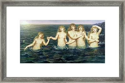 The Sea Maidens Framed Print