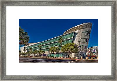 The Staples Center Framed Print