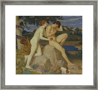 The Temptation Framed Print by William Strang