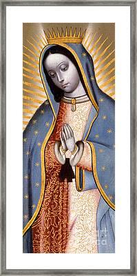 The Virgin Of Guadalupe  Framed Print
