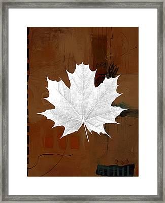 Tree Leaf Art Framed Print by Marvin Blaine