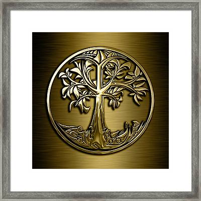 Tree Of Life Collection Framed Print by Marvin Blaine