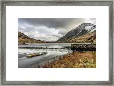 Tryfan Mountain Framed Print by Adrian Evans