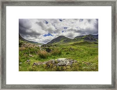 Tryfan Mountain Framed Print by Ian Mitchell