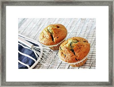 Two Blueberry Muffins Framed Print by Dutourdumonde Photography
