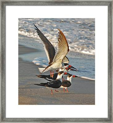 3- Upward And Onward Framed Print by Joseph Keane