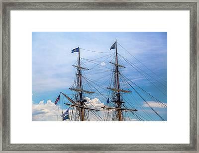 Us Brig Niagara Framed Print