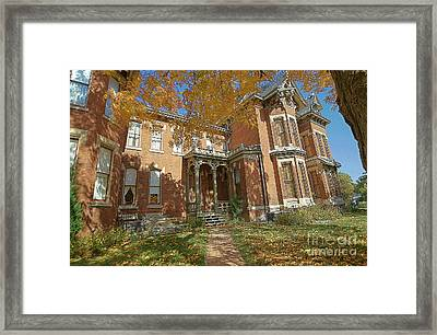 Vaile Mansion Framed Print by Liane Wright