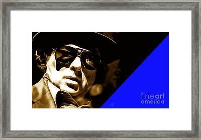 Van Morrison Collection Framed Print