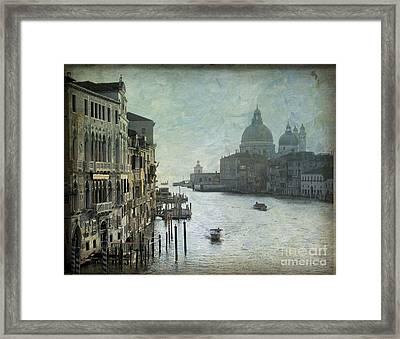 Venice Framed Print by Bernard Jaubert