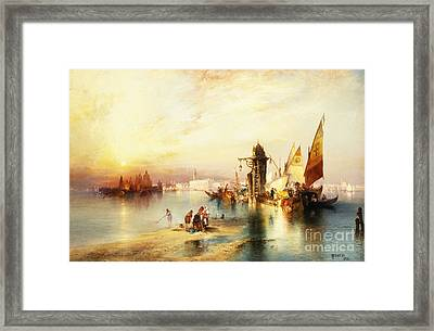 Venice Framed Print by Thomas Moran