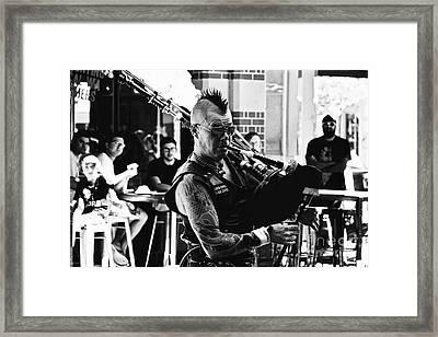 Version 2 Framed Print by Bobby Mandal