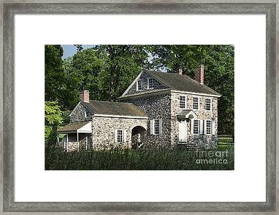 Washington's Headquarters Framed Print