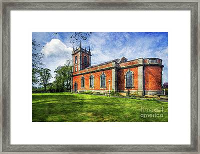 Welsh Church Framed Print by Ian Mitchell