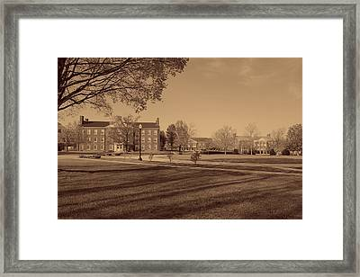 West Virginia Wesleyan College Campus Framed Print by Mountain Dreams