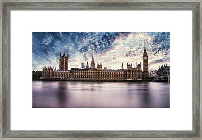 Westminster Framed Print