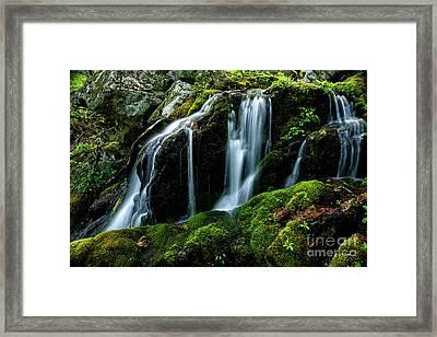 Wigwam Falls Framed Print by Thomas R Fletcher