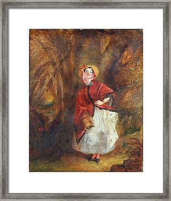 William Powell Frith Framed Print by Dolly Varden