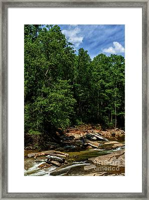 Framed Print featuring the photograph Williams River After The Flood by Thomas R Fletcher