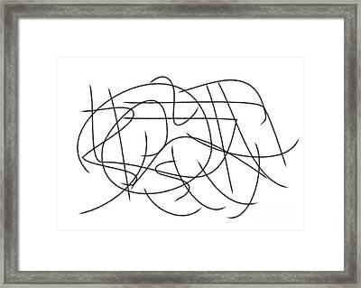 Windy Day Framed Print by Chani Demuijlder