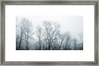 Winter View Framed Print by JAMART Photography
