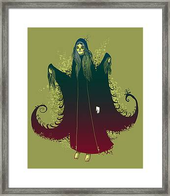 3 Witches Framed Print