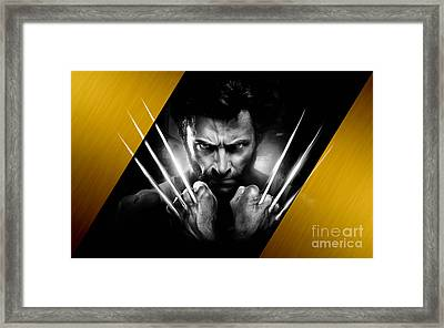Wolverine Collection Framed Print