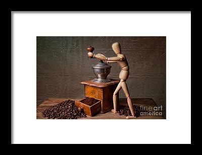 Coffee Grinder Framed Prints