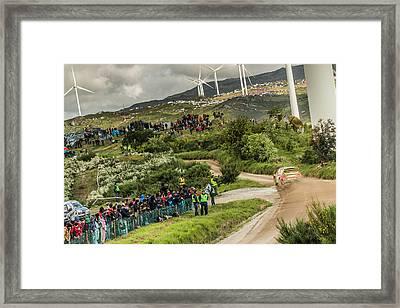 Wrc Rally Portugal 2016 Framed Print