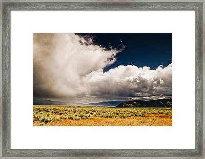 Wyoming Sky Framed Print by Patrick  Flynn