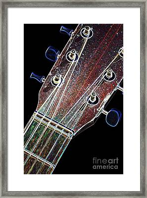 Light Fantastic 9 Framed Print by Wendy Wilton