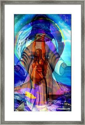 Yemaya- The Goddess Framed Print
