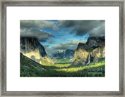 Yosemite Valley Framed Print by Marc Bittan