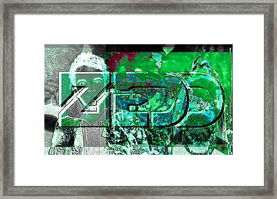 Zedd Tribute  Framed Print by Andrew Kaupe