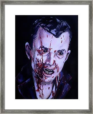30 Days Of Night Framed Print by Danielle LegacyArts