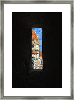 Florence Panorama Framed Print by Davide Guidolin
