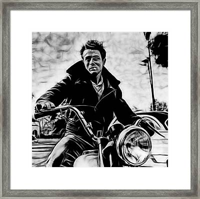 James Dean Collection Framed Print