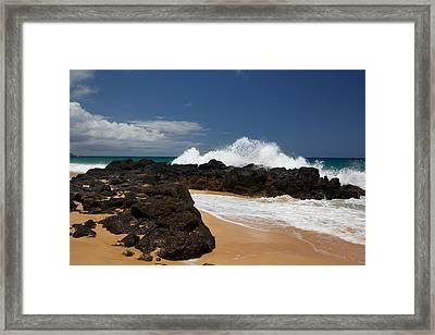 Kauai Shoreline Framed Print