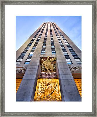 30 Rock Framed Print by June Marie Sobrito