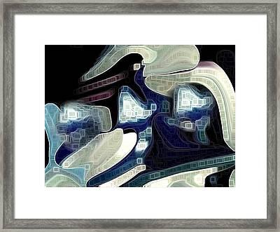 Visual  Framed Print by HollyWood Creation By linda zanini