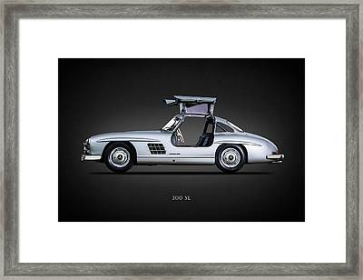 300 Sl Gullwing 1954 Framed Print