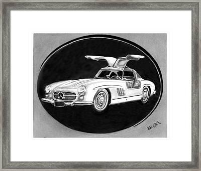 300 Sl Gullwing Framed Print