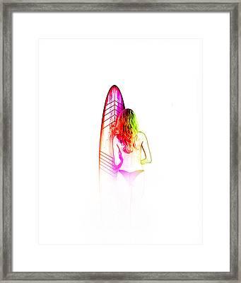 3000 - 105 Framed Print by Vjkelly Artwork