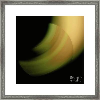 Framed Print featuring the digital art 3000 2017 by John Krakora