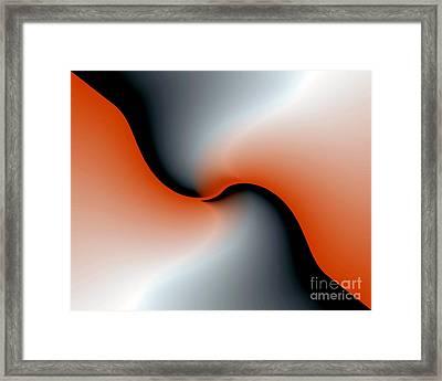 Framed Print featuring the digital art 3006 2017 by John Krakora